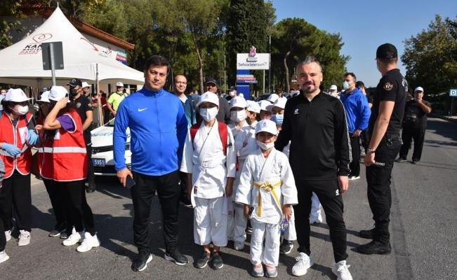 Şehzadeler Dünya Yürüyüş Günü'nde sağlık için yürüdü