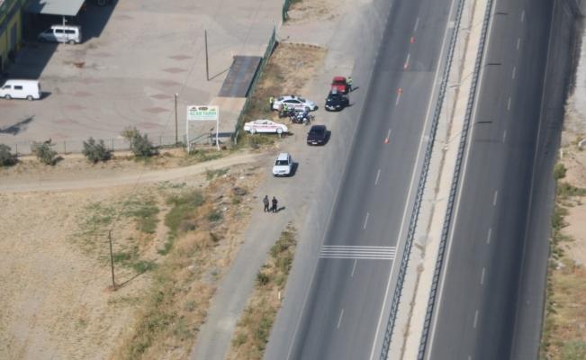 Trafikte kural ihlali yapanlar havadan tespit edildi