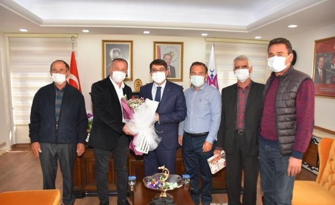 Yeniköylü vatandaşlardan Başkan Çelik'e teşekkür