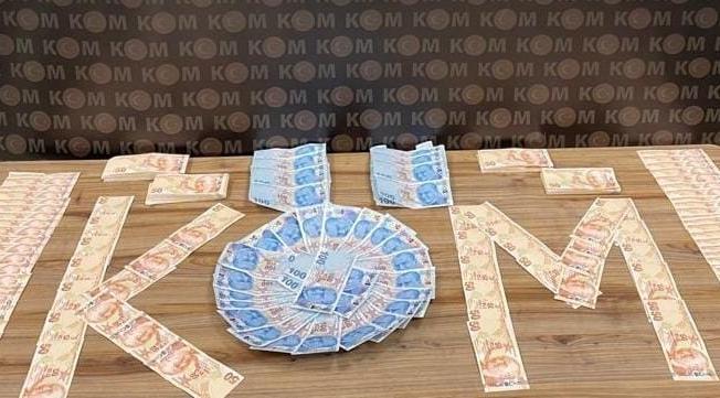 Yolcu otobüsünde 130 bin TL sahte parayla yakalandı