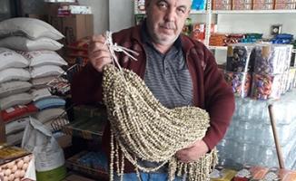 Kuru bamya 120 liradan satılıyor