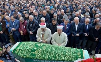Eski Başkan Adil Aygül'e son görev