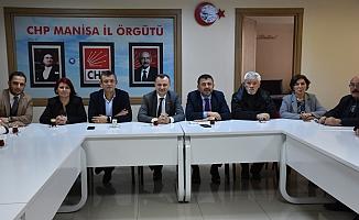 CHP Genel Başkan Yardımcısı Ağbaba Manisa'da