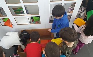 MOSB Anaokulu'nda 'Oyuncaksız 3 gün'