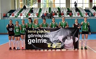 Salihli Belediyespor filede 5. sette kaybetti