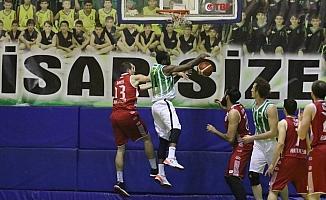 Türkiye Erkekler Basketbol 1. Ligi: Akhisar Bld.: 79 - Antalyaspor: 68