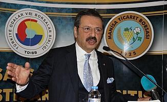 TOBB Başkanı Hisarcıklıoğlu Manisa'da iş dünyasına seslendi