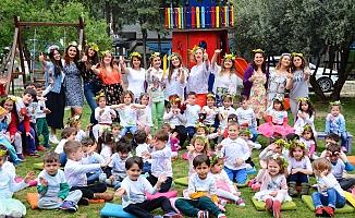 KidsAloud minikleri bahar şenliği yaptı
