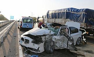 Kula'da trafik kazası: 1 ölü, 3 yaralı