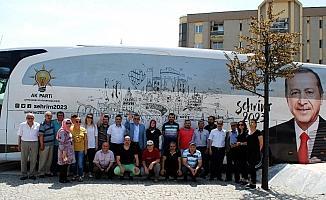 'Şehrim 2023' otobüsünün 26. durağı Salihli oldu