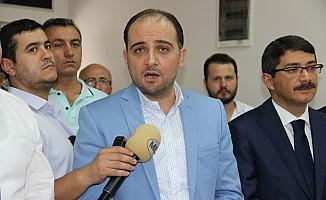 """AK Parti'li Baybatur: """"Kefenimizi giyerek yola çıktık"""""""