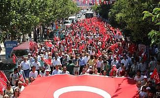 CHP Manisa'dan 'Büyük iktidar yürüyüşü'