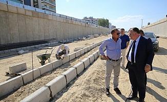 Alaşehir'in köprülü kavşağına inceleme