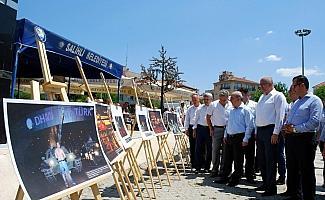 Kula ve Salihli'de İHA'nın 15 Temmuz sergisine büyük ilgi