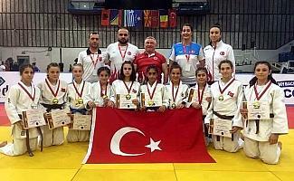 Salihlili judocu Balkan şampiyonu oldu
