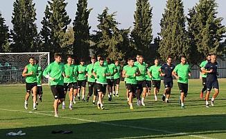 Akhisarspor'da Krasnodar maçı öncesi son antrenman