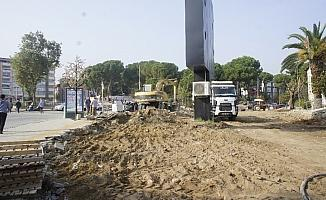 Alaşehir Belediyesinden yol genişletme çalışması