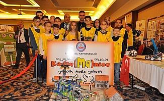 Afrin'den etkilendiler, ambulans vinç robotu tasarladılar