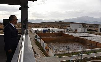 Başkan Kayda, OSB atıksu arıtma tesisini inceledi