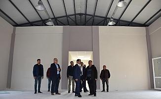 Kağan Mahallesi Çok Amaçlı Salonu açılışa hazırlanıyor