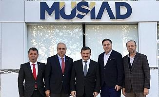Manisa MÜSİAD, Kaymakam Kansız'ı ağırladı