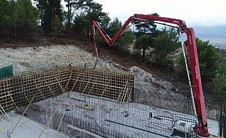 MASKİ Soma'ya 7 bin 500 tonluk içme suyu deposu yapıyor
