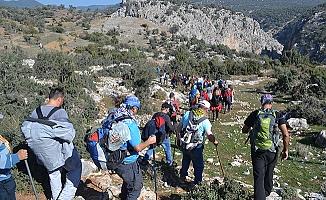 Spilos Dağcıları Ansızca Kanyonu'nda
