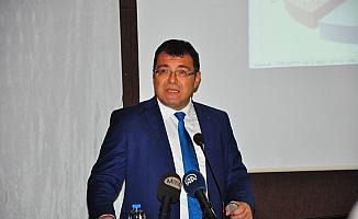 TÜBİTAK Başkanı Hasan Mandal, Manisa'da sunum yaptı