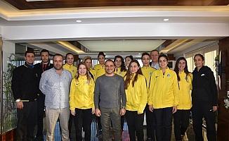 Başkan Uçak Sarı Melekleri kutladı