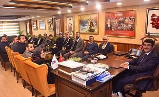 AK Partili Mersinli'den Başkan Çelik'e tebrik ziyareti