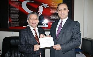 Bağımsız başkan adayı Ertan Gökçe resmi başvuruşunu yaptı