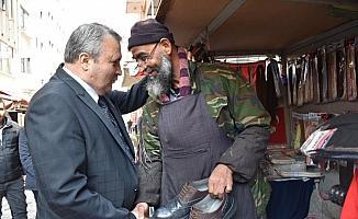 Cumhur İttifakı adayı Çerçi esnaf ziyareti yaptı