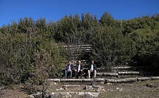 (Özel) 2300 yıllık antik kent tarım alanına döndü