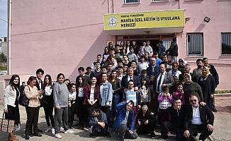 Başkan Çerçi özel çocuklar ve yaşlılar ile buluştu