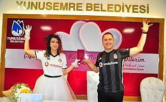 Nikah tarihleri için Beşiktaş'ın yıl dönümünü seçtiler