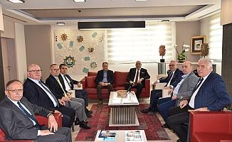 MOSB yönetiminden Ergün'e ziyaret