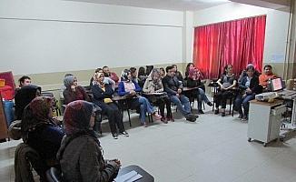 Sarıgöl'de kamu personeline ilk yardım kursu