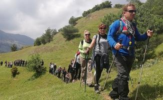 Spilos Dağcıları Sart Kalesi'ne yürüdü