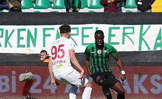 Spor Toto Süper Lig: Akhisarspor: 1 - Antalyaspor: 2 (Maç sonucu)