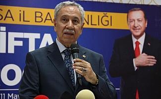"""Arınç: """"(İmamoğlu için) Sen PKK'nın desteğini reddedecek misin, yoksa etmeyecek misin?"""""""