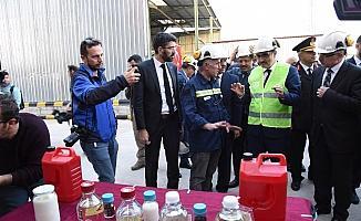 Bakan Dönmez kömürden akaryakıt üreten tesisi inceledi