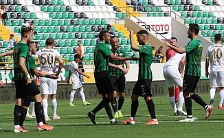 Spor Toto Süper Lig: Akhisarspor: 1 - İstikbal Mobilya Kayserispor: 0 (İlk yarı)