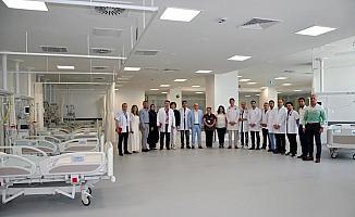 Manisa Şehir Hastanesinde koroner yoğun bakım ünitesi hizmete açıldı