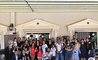 Salihli'deki Beşiktaşlılar farkındalık kahvaltısında buluştu