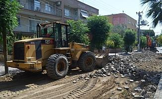 Turgutlu'da Türkmen yolu yenileniyor