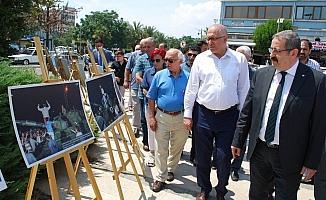İHA, 15 Temmuz gecesini Salihli'de fotoğraflarla hatırlattı
