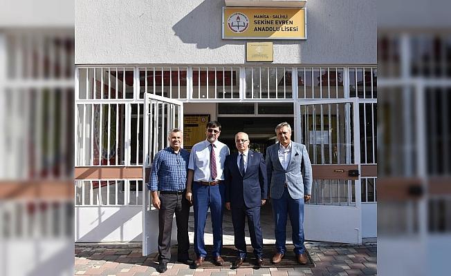 Başkan Kayda'dan okul müdürlerine 'Hayırlı olsun' ziyareti
