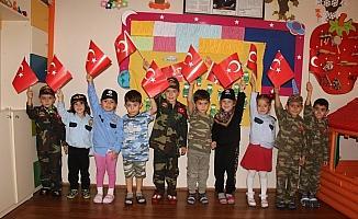 Minik öğrencilerden Mehmetçik'e duygulandıran destek