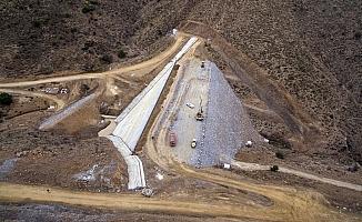Kelebek Barajı yeni yılla birlikte su tutmaya başlayacak