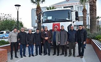 Bakanlıktan Yunusemre Belediyesi'ne araç desteği
